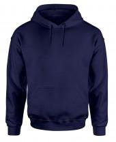 mens blue navy hooded sweatshirt