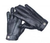 Mens Leather Biker Gloves