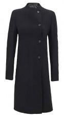 Single Breasted Wool Coat Womens