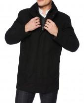 3 4 Length Wool Coat Mens