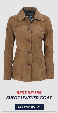 womens suede leather jacket