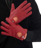 Genuine Leather Gloves Men