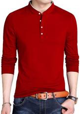 Long Sleeves Henley Shirt