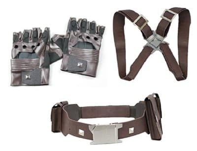 Captain America Civil War Belt, Harness and Gloves