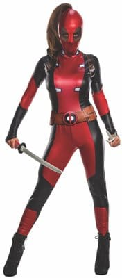 Deadpool Women Costume