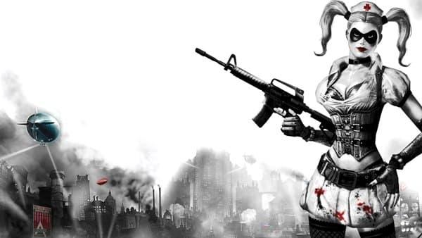 Harley Quinn Arkham Asylum Nurse