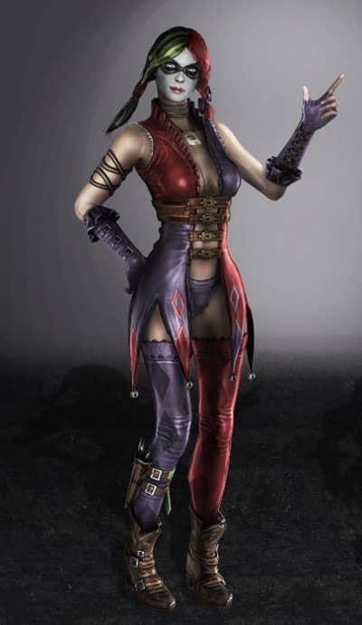 Harley Quinn God Among Us
