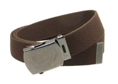 Indiana Jones Canvas Belt