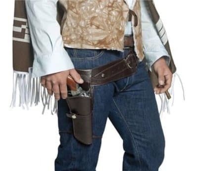 Indiana Jones Gun Holster With Belt