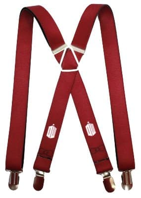 11th Doctor Suspenders