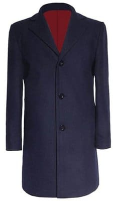 12th Doctor Blue Coat