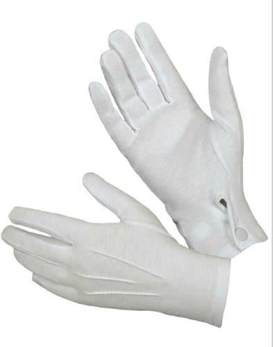 Joker Black Tuxedo Gloves
