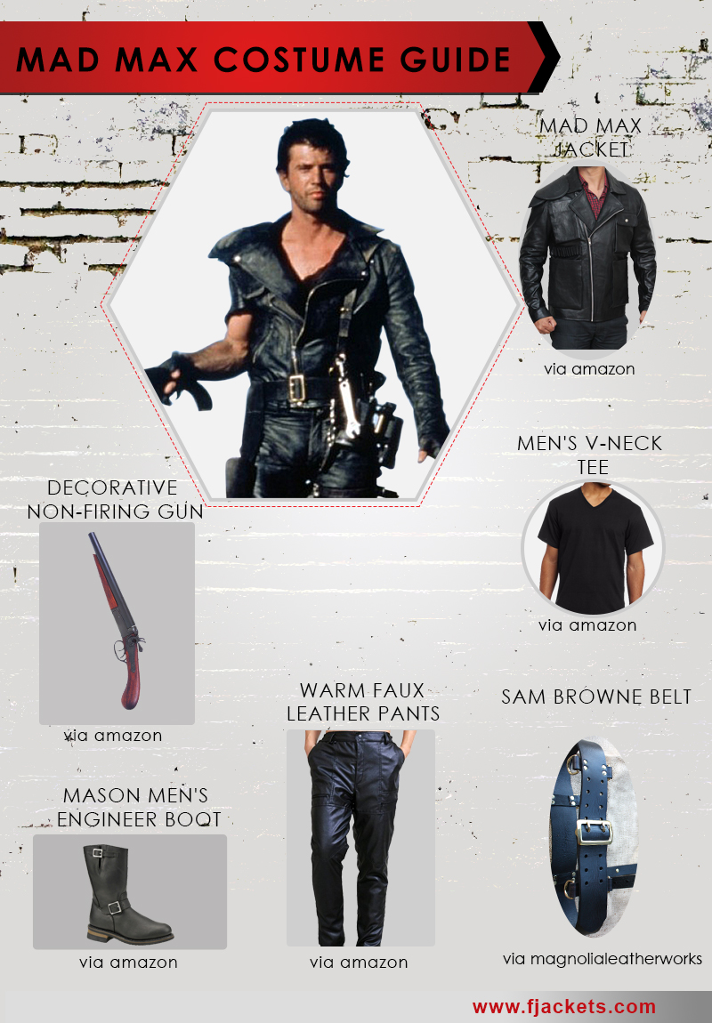 Häufig Mad Max Costume | Jacket, Shirts and Merchandise GN21