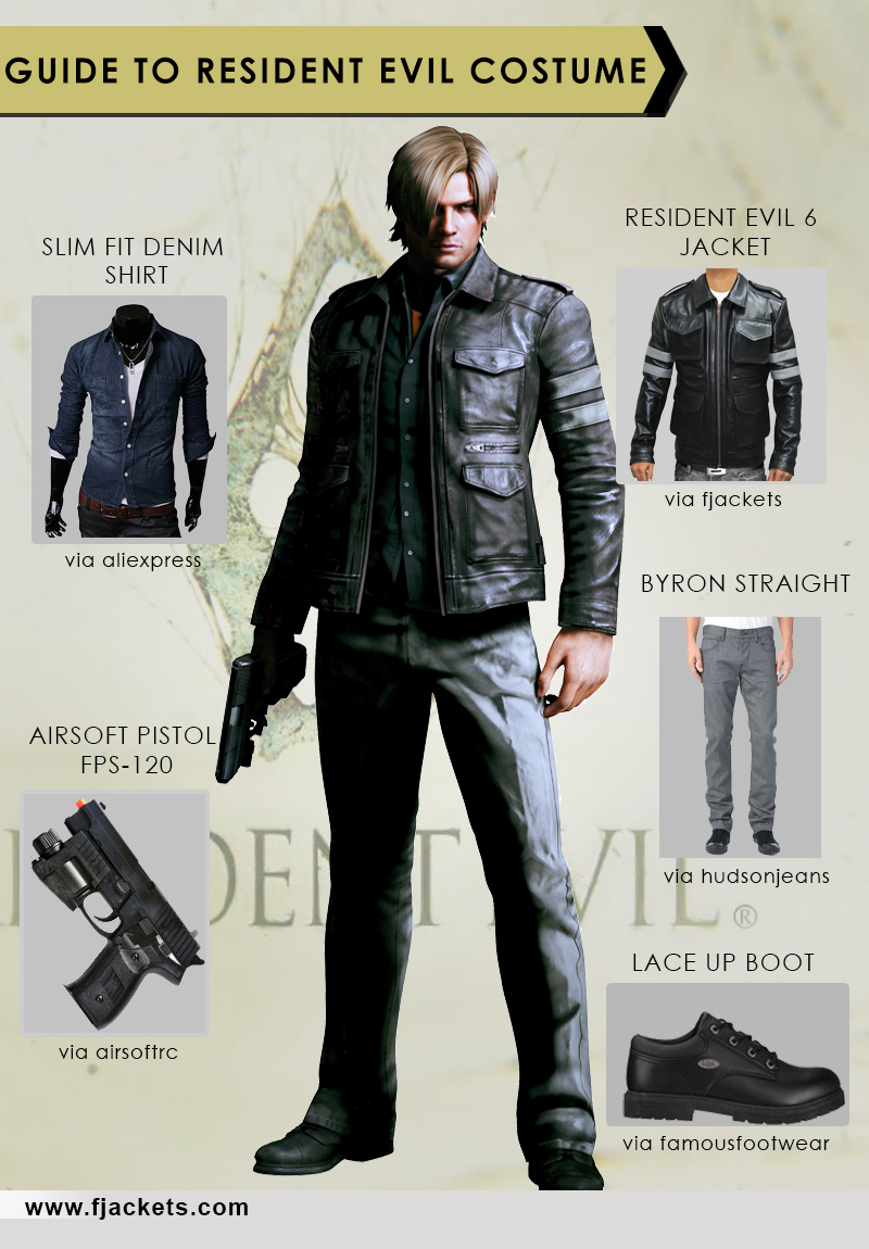 Resident Evil infographic