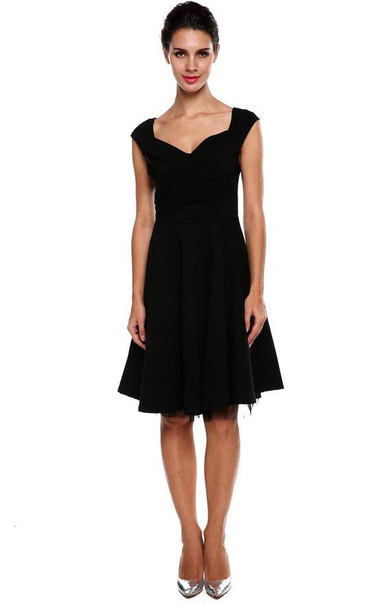 Scarlet Witch Black Dress