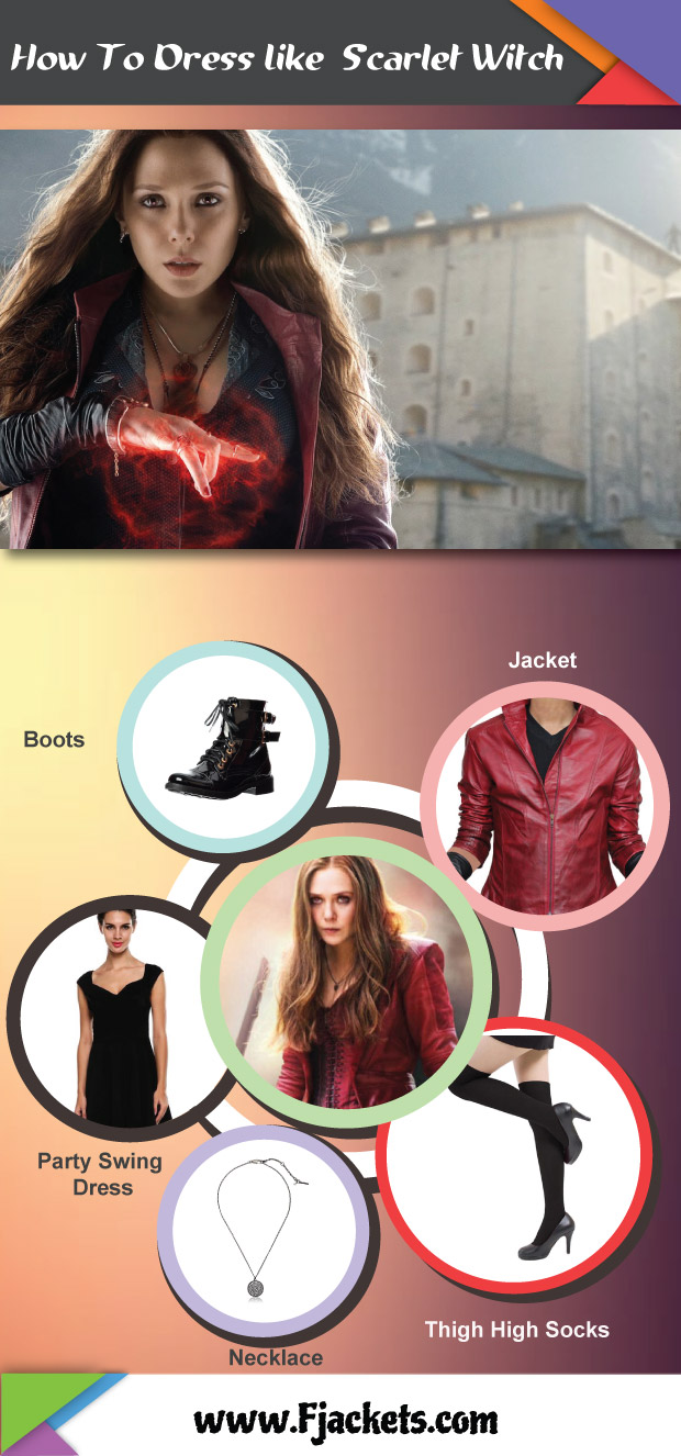 Scarlet Witch Infographic