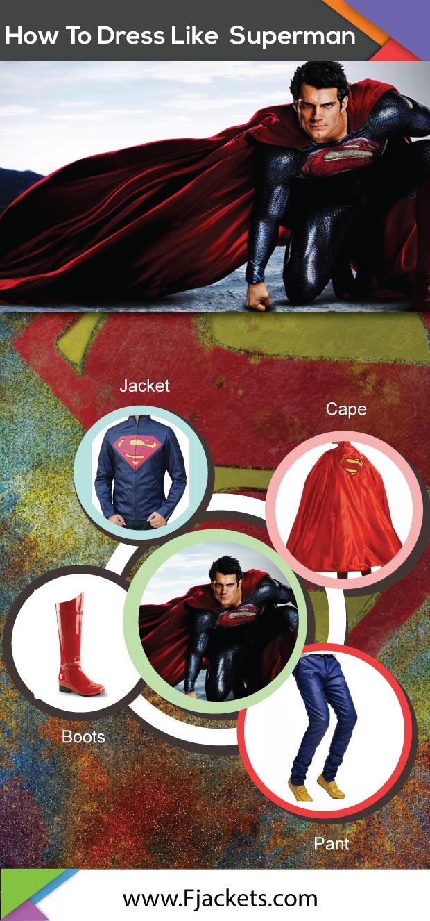 Superman Costume Infographic