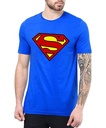 superman royal blue shirt