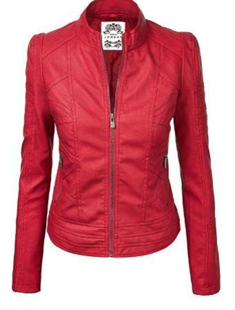 scarlet red jacket