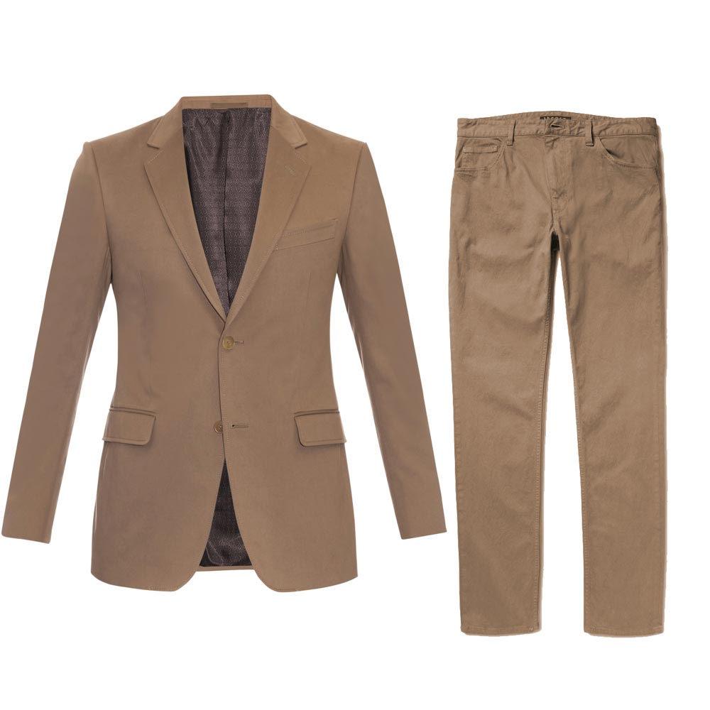James Bond Brown Suit Product