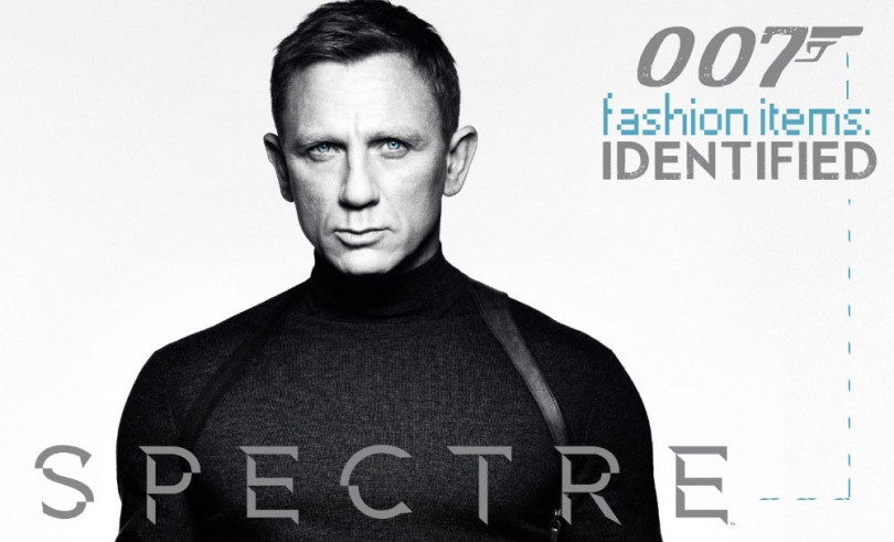 James Bond Fashion Items 810x491
