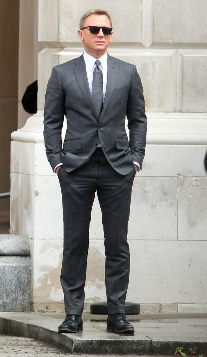 James Bond Gray Suit