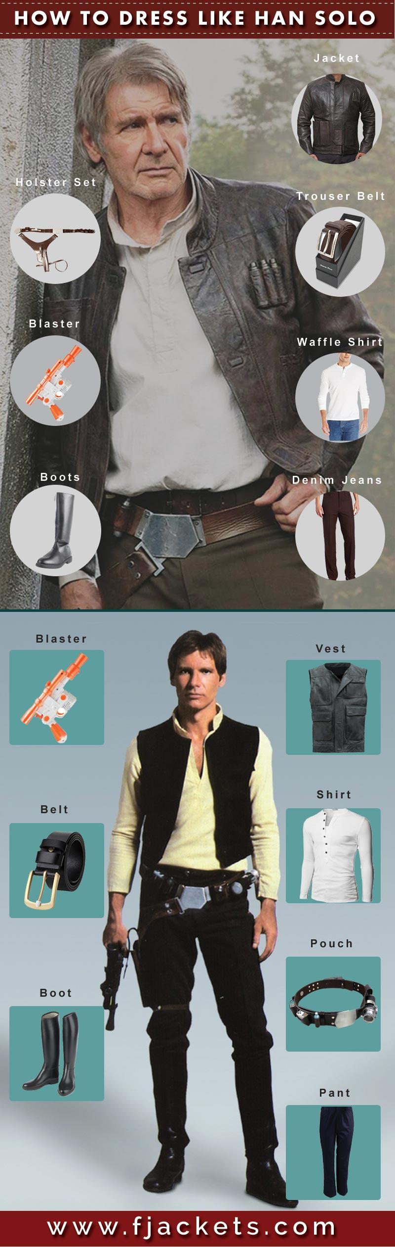 Han Solo Infograph
