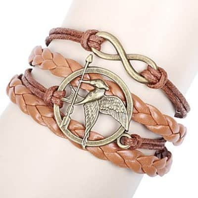 Katniss Everdeen Mockingjay Bracelet