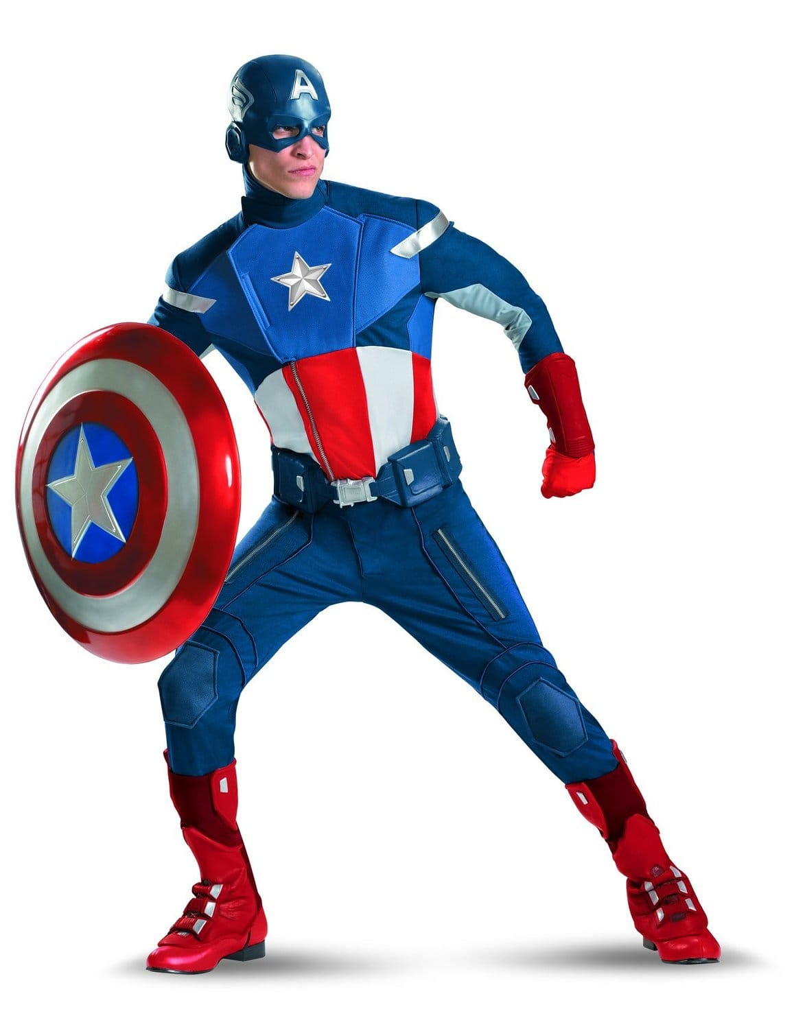 Captain America The Avengers Adult Suit