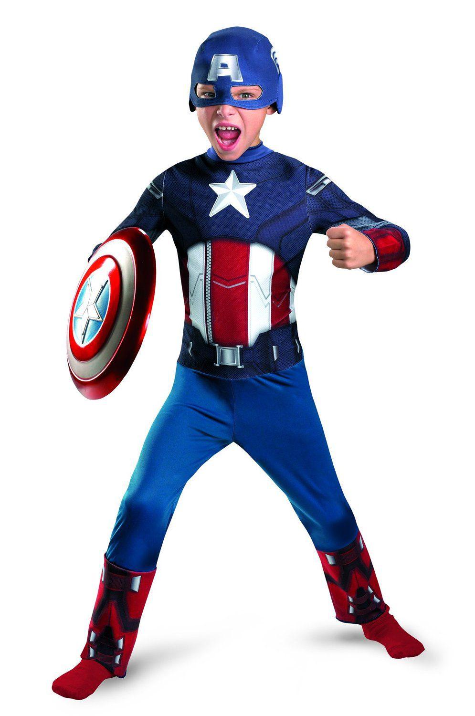 Captain America The Avengers Child Suit