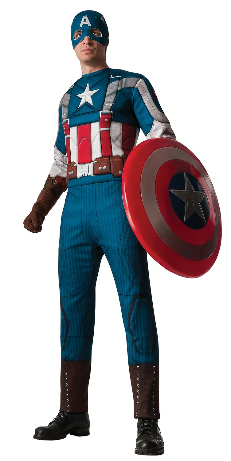 Captain America Costumes | Helmet, Boots and Merchandise