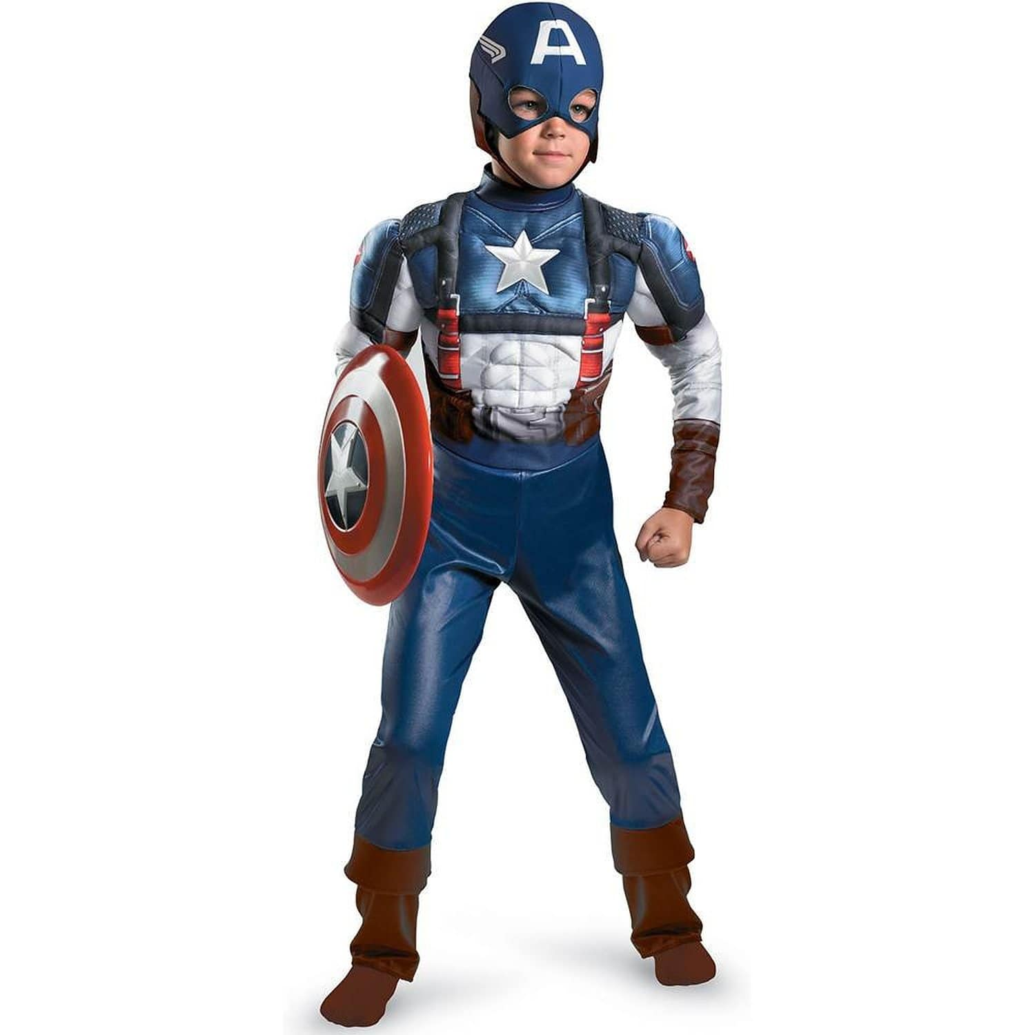 Captain America The First Avenger Child Suit