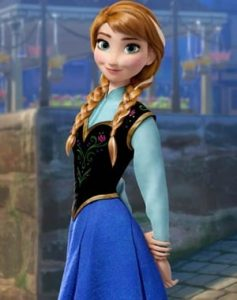 Frozen Anna Travelling Costume