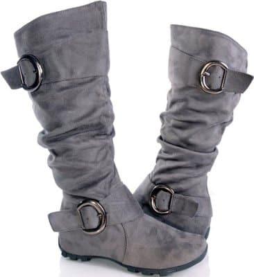 Princess Leia Grey Boots