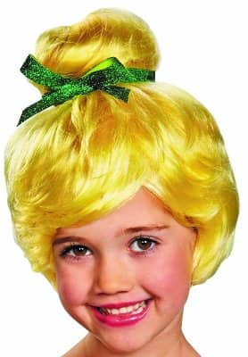 Tinkerbell Child Wig