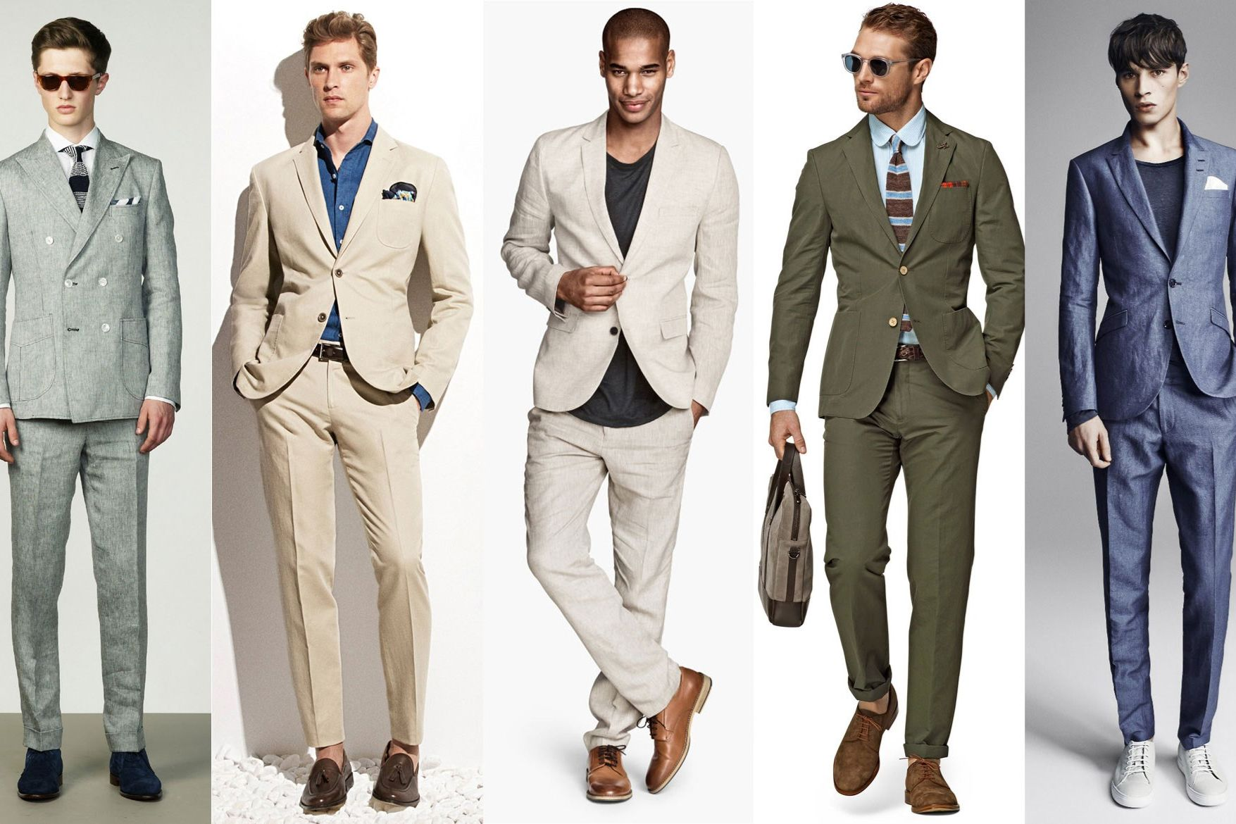 Linen Suits: The Definitive Choice For The Summer