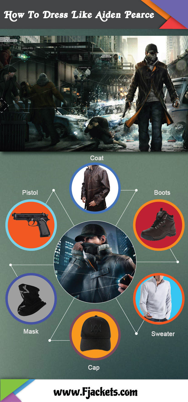 Aiden Pearce Infographic
