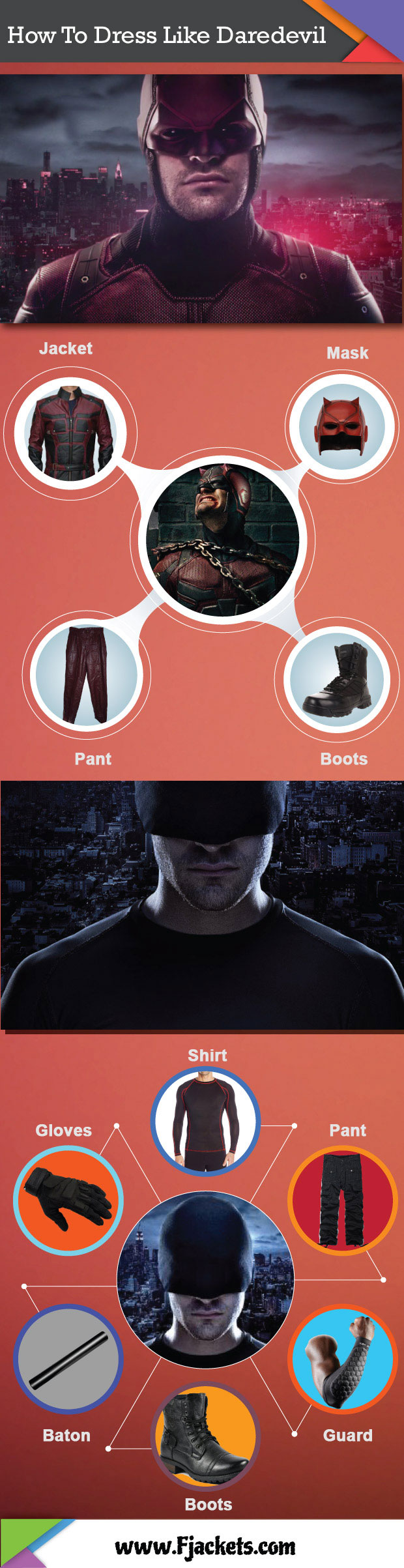 Daredevil Infographic