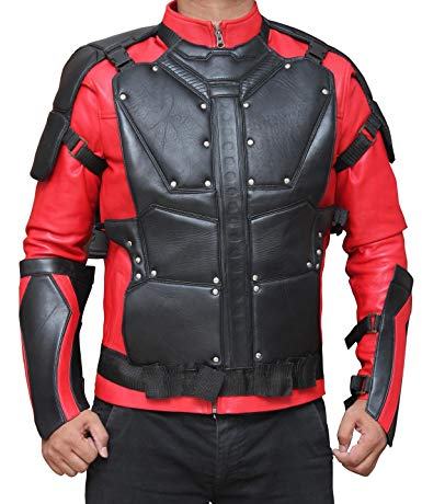 Deadshot Red and black Jacket