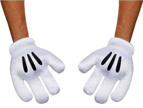 Minnie Mouse Gloves Adult