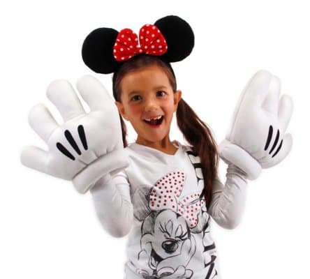 Minnie Mouse Gloves Child