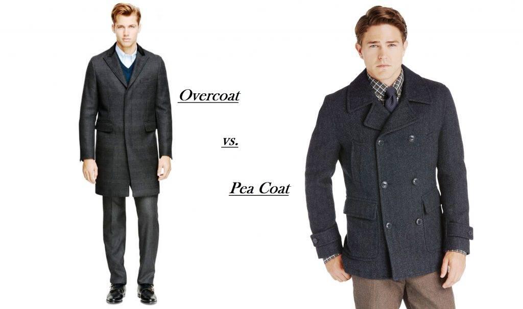 Overcoat vs pea coat