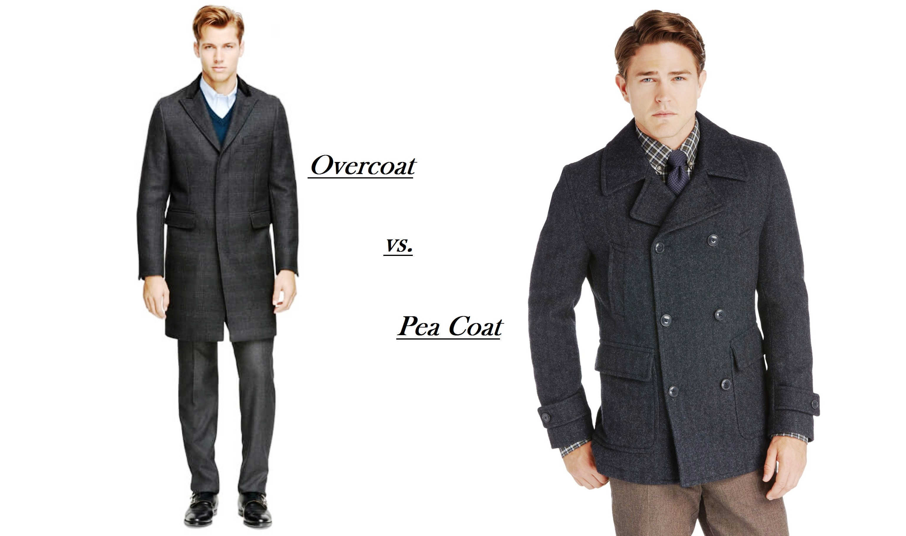 The Best Pea Coats For Men & Guide To Wearing Them