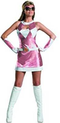pink power ranger dress