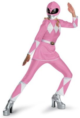 pink power ranger suit