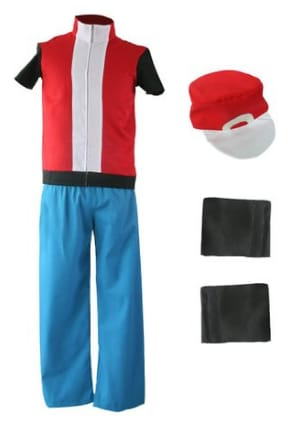Pokemon Trainer Costume Set