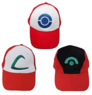 Pokemon Trainer Hat Set