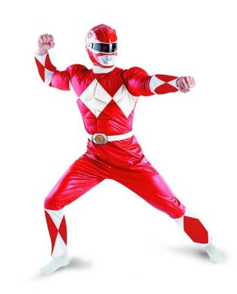 Power Ranger Outfit Muscle Set
