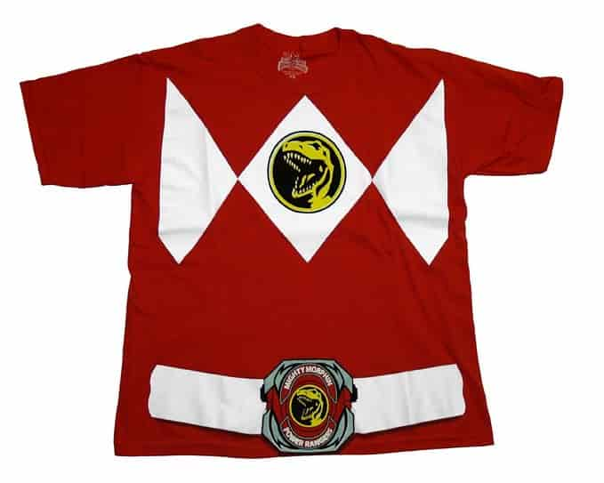 Power Ranger Red T-Shirt Tee