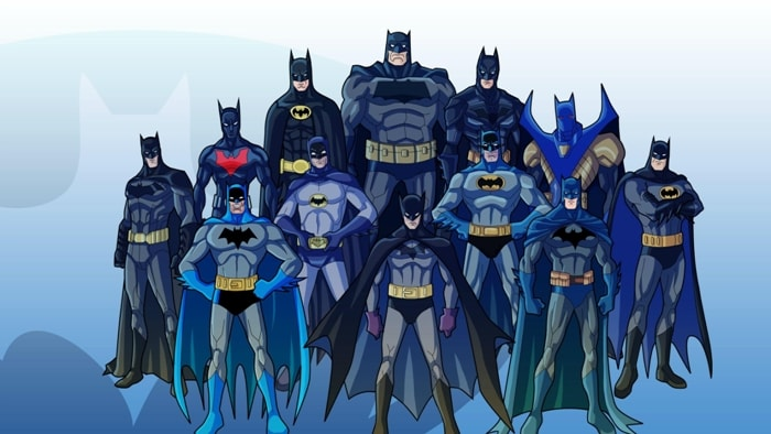 Image result for batman over the years